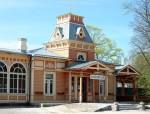Haapsalu raudteejaam, imperaatori paviljon    Autor Tõnis Padu    Kuupäev  22.05.2005