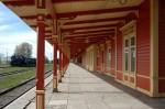 Haapsalu raudteejaam, perroon    Autor Tõnis Padu    Kuupäev  21.05.2005