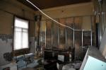 Haapsalu jaama einelaua poolikult remonditud siseruum Tõnis Padu foto 24. august 2010