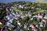 Haapsalu vanalinn, lennufoto Autor Margus Vilisoo, pildistatud 28. juunil 2010