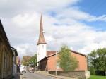 Rakvere kirik :reg. nr.15732vaade lõunast- Pikalt tänavalt  Autor Anne Kaldam  Kuupäev  20.10.2010