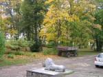 Udriku mõisa park reg. 15680, vaade edelapoolsele  pargialale -peahoone trepilt loodesse  Autor Anne Kaldam  Kuupäev 29.02.2010