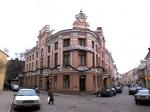 Maja, kus 1809-1902 tegutses esimene kutseline teater Tallinnas (varasem foto)