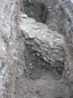 Suure Rannavärava bastioni esine vallikraavi väliskalda ehk kontreskarpmüür.