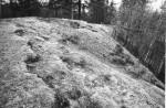 Maa-alune kalmistu - kirdest. Foto: M. Pakler, 06.05.1981.