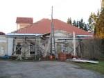 Väimela mõisa valitsejamaja kellatorniga, 18 saj. Foto Tõnis Taavet, 26.10.2010.