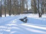 Arkna mõisa kivisild 1 :vaade idast peahoone poolt   Autor ANNE KALDAM  Kuupäev  10.02.2011