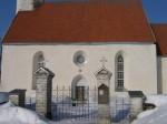 Väike-Maarja kirikuaia piirdemüür :16109, vaade väravatele, lõunast   Autor Anne Kaldam  Kuupäev  14.03.2011