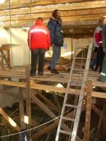 Lae restaureerimine. Foto: Lilian Hansar. Kuupäev  29.11.2006