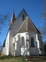 Kullamaa kirik idast. Foto: Kalli Pets, 19.04.2011