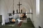 Kullamaa kiriku sisevaade, Foto: Tõnis Padu, 19.04.2011