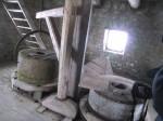 Võhma veski kivikorrus kahe paari veskikividega. Foto: M.Koppel 22.01.2010