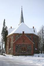 Ãksi kirik, vaade koorile  Autor Kalle Lange  Kuupäev  25.02.2007