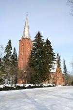 Ãksi kirik, vaade lõunast  Autor Kalle Lange  Kuupäev  25.02.2007
