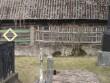 Käsmu kabeliaia piirdemüür nr. 16071. vaade loodenurk põhjapoolsele piirdeaiale-vanim puitpiire  Autor Anne Kaldam  Kuupäev  13.04.2007