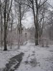 Audla mõisa pargist vaade peahoone poole. Foto: R. Peirumaa, 19.03.12