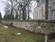 Vaade müüri lõunaküljele. Foto Silja Konsa 29.03.2012