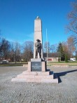 Vabadussõja mälestussammas Kohilas. K. Klandorf 02.05.2012