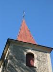 Leesi kiriku torn. Foto: Kais Matteus 31.07.2008