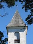 Loksa kiriku torn. Foto: S. Sombri; 31.07.2008