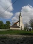 Vaade Järva-Madise kirikule. Foto: Kais Matteus 19.05.2008