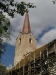 Järva-Peetri kiriku tornikiiver. Foto: Sille Sombri 19.05.2008