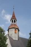 Sangaste kiriku torn. Foto: Sille Sombri 15.07.2010