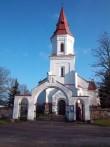 Hageri kirikuaia läänevärav. K. Klandorf 04.11.2011