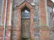 Tänassilma kirku uks. Foto: Anne Kivi, 17.05.2012