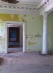 Teise korruse esindusruum, kus paljandub originaalparkett. Foto: Matis Rodin, 2012.