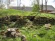 Vaade põhjast, läänepoolsele osale, enne restaureerimist. Foto: Sille Raidvere, 15.05.2012.