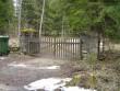 Hanila kalmistu värav  Kalli Pets 12.04.2012
