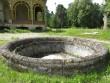 15978 Inju mõisa park, vaade pargist peahoone poole üle purskkaevu  , 26.06.12, Anne Kaldam