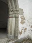 15647 Haljala kirik , tornialune lõnaportaal , detail idapoolsest osast  25.06.2012. Anne Kaldam