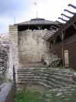 Rakvere linnuse varemed vallikraaviga : 15740. siseõues; rest-konserveeritud lõunasein 2007.a.  Autor Anne Kaldam  Kuupäev  30.08.2007