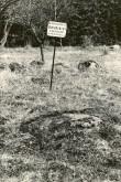 Ohvrikivi - lõunast. Foto: M. Pakler, 06.05.1987.
