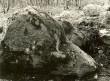 Rahvajuttudega seotud kivi - põhjast. Foto: E. Väljal, 1980ndad aastad.