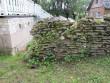 15648 Haljala kirikuaia piirdemüür , avariiline lõunapoolne osa. 31.07.2012. Anne Kaldam