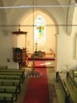 Viru-Nigula kirik : 16057, SISEVAADE PIKIHOONEST ALTARIRUUMI POOLE.  Autor ANNE KALDAM  Kuupäev  11.09.2007