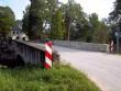 Vaade Russalu mõisa sillale loodest, taustal Russalu mõisa peahoone. K. Klandorf 30.08.2012