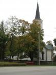 Vaade Haljala kirikule loodest. Kp. 27.09.12, autor M.Abel