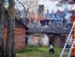 Kohila mõisa tall-tõllakuuri vaade idasuunast. K. Klandorf 15.10.2012