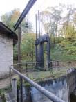 28726 Kunda tsemendivabriku hüdrolelektrijaama hoone, tamm ja algne turbiin koos ülekandemehhanismiga , 09.10.2012.Mirjam Abel