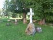 Vaade kirikuaia lõnaosale. Foto Silja Konsa, 30.09.2012