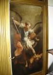 """Ikoon """"Peaingel Miikael"""" ikonostaasil. 19.saj. keskpaik (õli, lõuend). Foto: S.Simson 13.06.2006"""