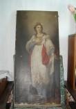 """Ikoon """"Püha Katariina"""". 19. saj. II pool (õli, lõuend). Foto: S.Simson 13.06.2006"""