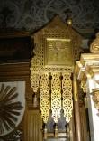 """Kirikulipp ikoonidega """"Nikolai Imetegija"""" ja """"Kristuse ristimine"""". 19. saj. lõpp või 20. saj. algus (messing, õli). Foto: S. Simson 13.06.2006"""