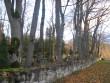Kudjape kalmistu piirdemüür. Foto: Rita Peirumaa, 31.10.2012