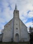 15661 Kadrina kirik, vaade läänest. 08.11.2012 Anne Kaldam