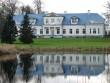 Vohnja mõisa peahoone, vaade esifassaadile kirdest. Foto: M.Abel, kuupäev 08.11.12